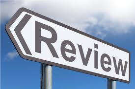 review sign