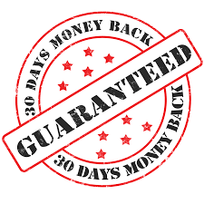 30 day money back guarantee stamp