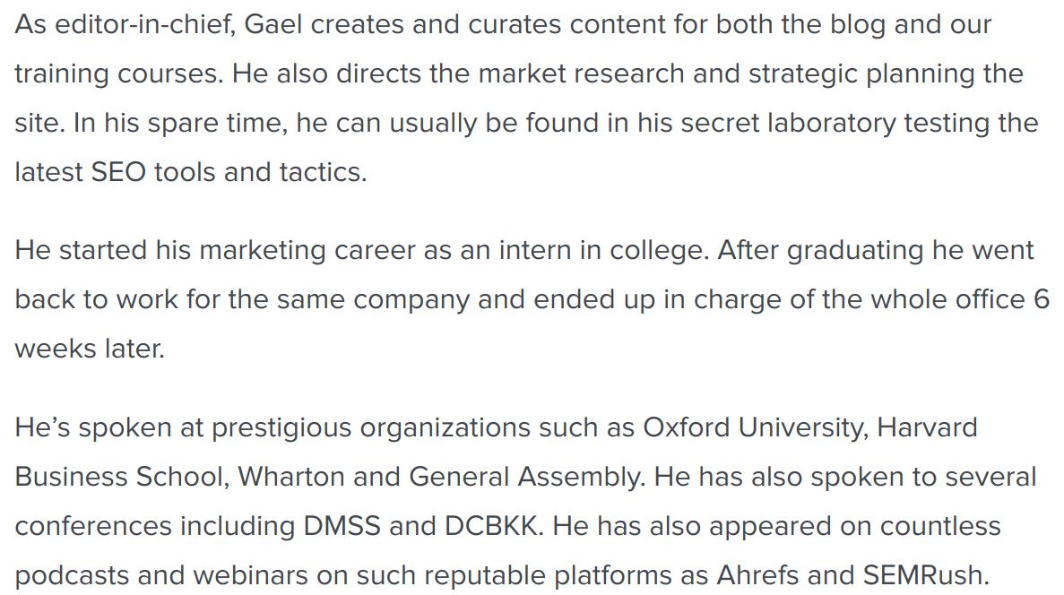 Gael info