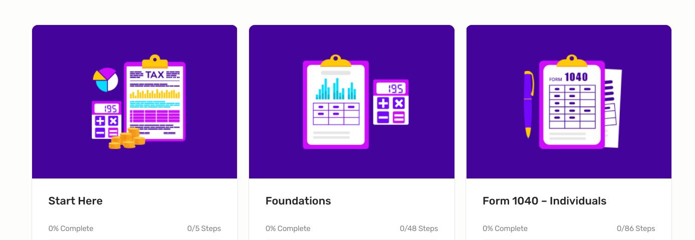 learn taxes screenshot